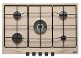 franke 6800060 piano cottura nero, marrone da incasso gas 5 fornello(i)