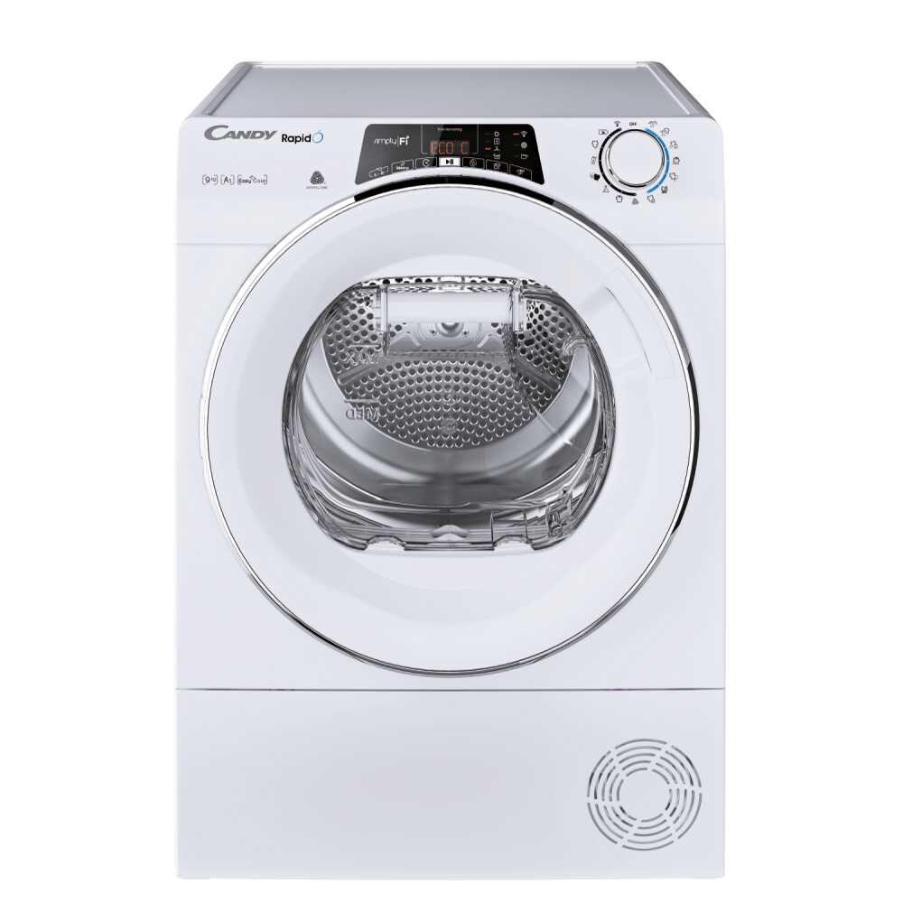 Candy RO H9A2TCEX-S asciugatrice Libera installazione Caricamento frontale 9 kg A++ Bianco