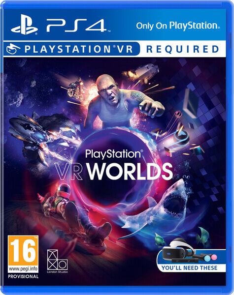 sony vr worlds, playstation vr basic inglese playstation 4