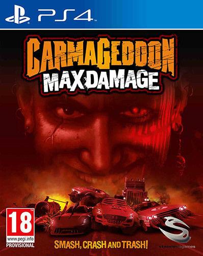 koch media carmageddon: max damage, ps4 videogioco playstation 4 basic inglese, ita