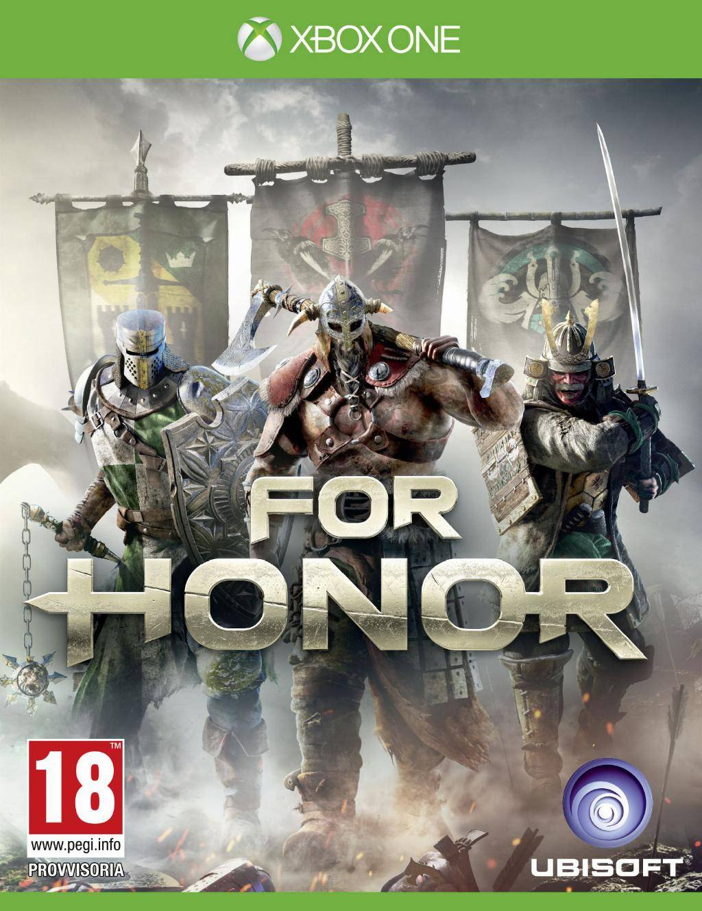 ubisoft for honor, xbox one