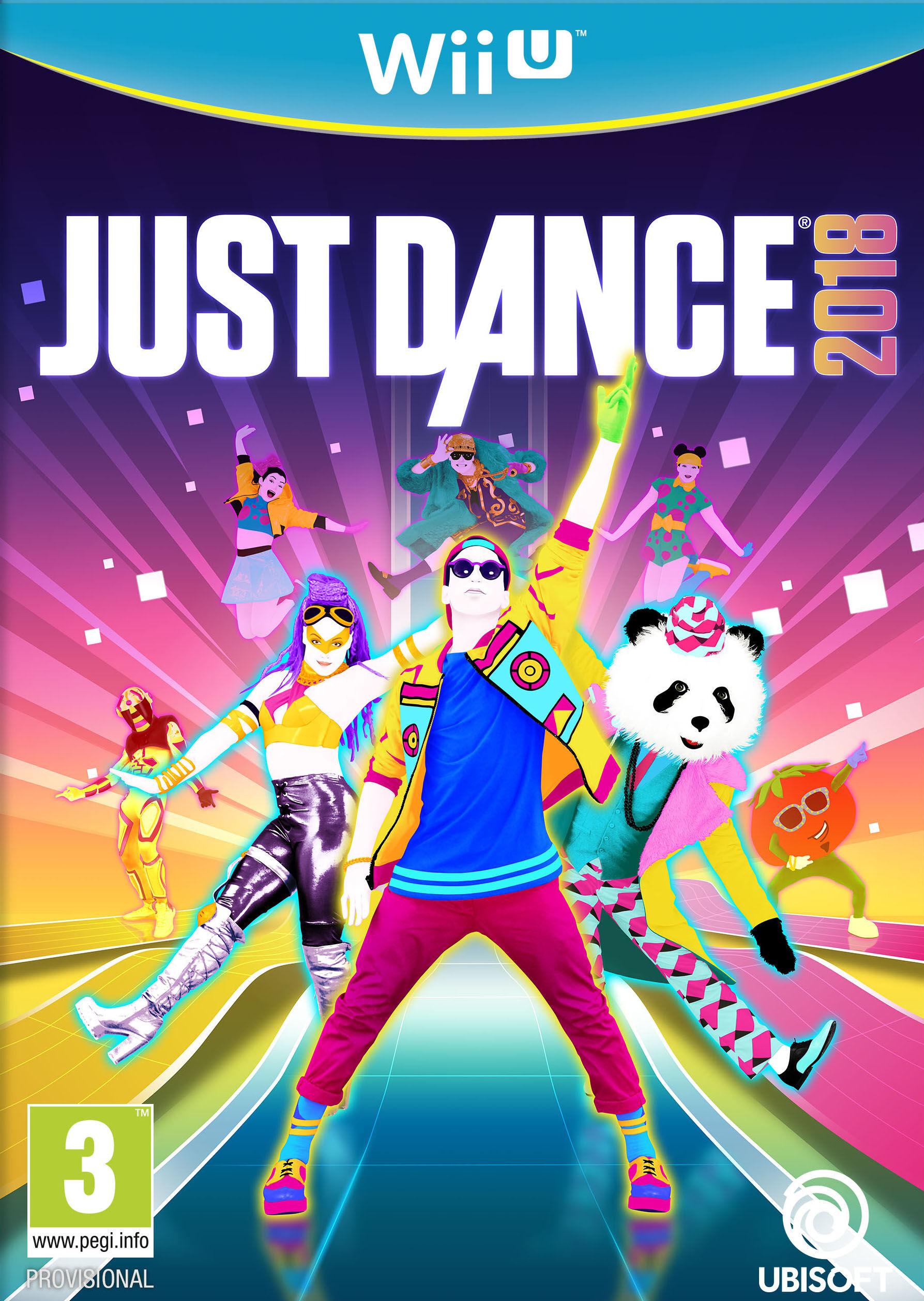 Ubisoft Just Dance 2018, Wii U