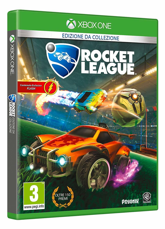 X-JOY Warner Bros Rocket League, Xbox One videogioco Basic ITA