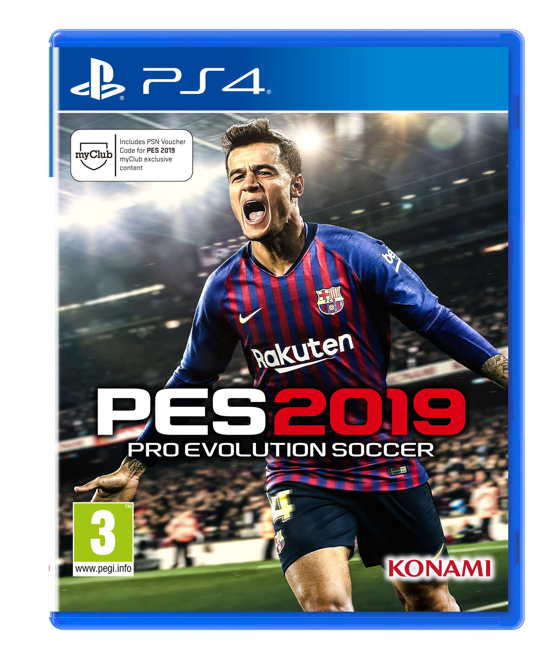 HALIFAX Sony PS4 Pro Evolution Soccer 2019