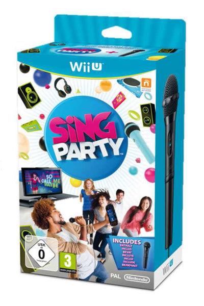 Nintendo Sing Party + Microfono, Wii U