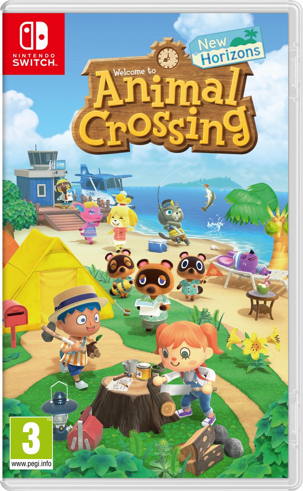 Nintendo Animal Crossing: New Horizons Basic Inglese, ITA Nintendo Switch