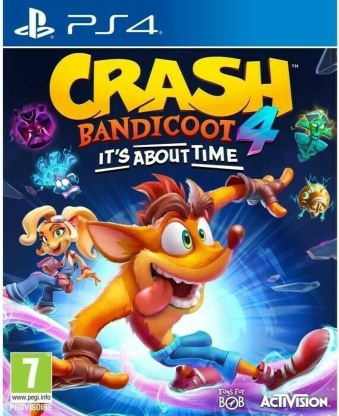 Sony Crash Bandicoot 4 It´s about time PS4 IT PlayStation 4