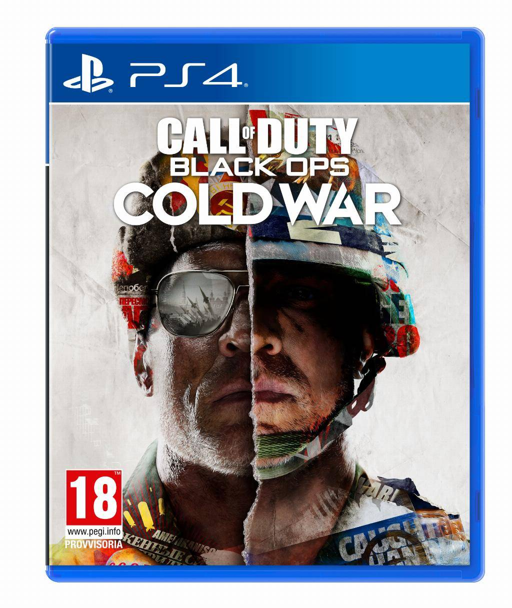 Sony Activision Blizzard Call of Duty: Black Ops Cold War - Standard Edition, PS4 Basic Inglese, ITA PlayStation 4