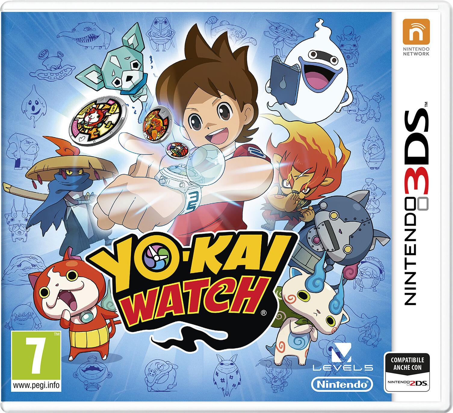 Nintendo Yo-Kai Watch 3DS videogioco Nintendo 3DS Basic ITA