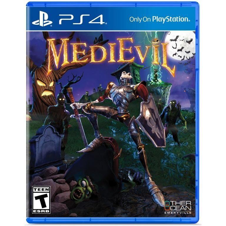 Sony Medievil PS4 Videogame ITA