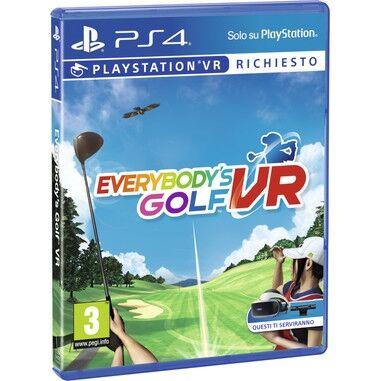 Everybody's Golf VR Playstation 4 ITA