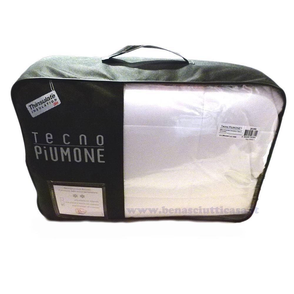 Bassetti Piumino Piumone singolo TECHNO 155x200 cm 3 stelle invernale