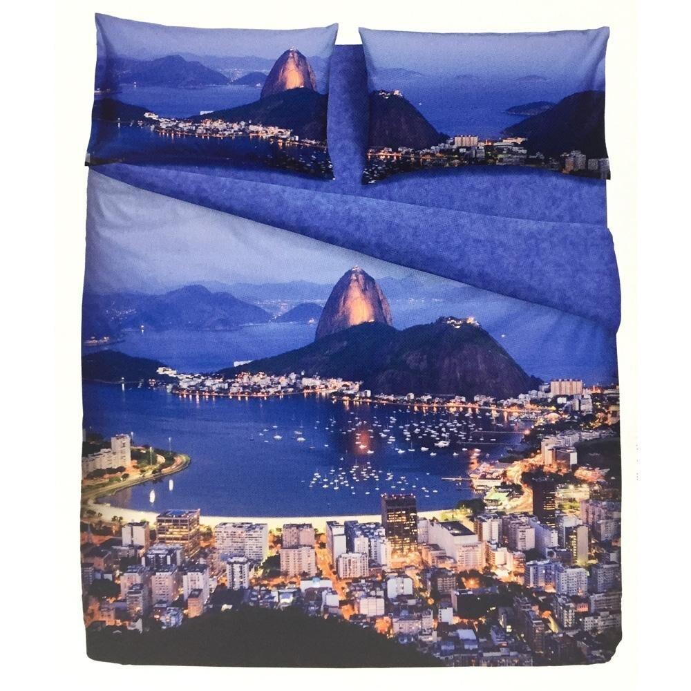 Bassetti Set copripiumino singolo 1 piazza RIO stampa digitale