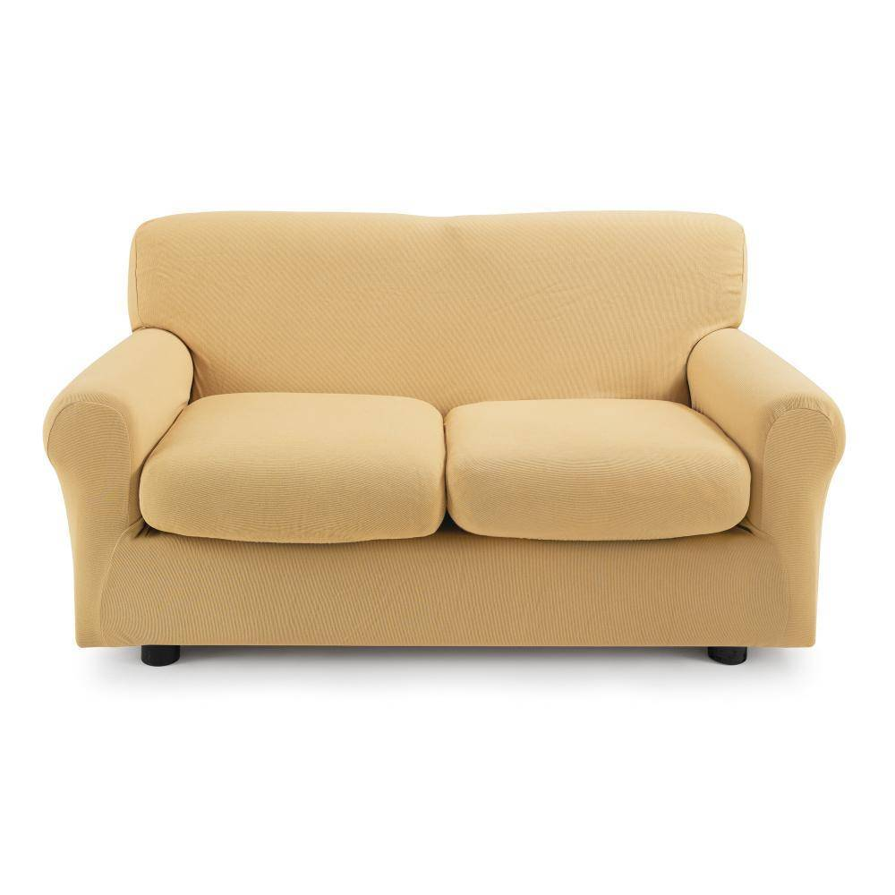 Zucchi Copridivano 2 posti con 2 cuscini Copri divano ZAPPING ocra
