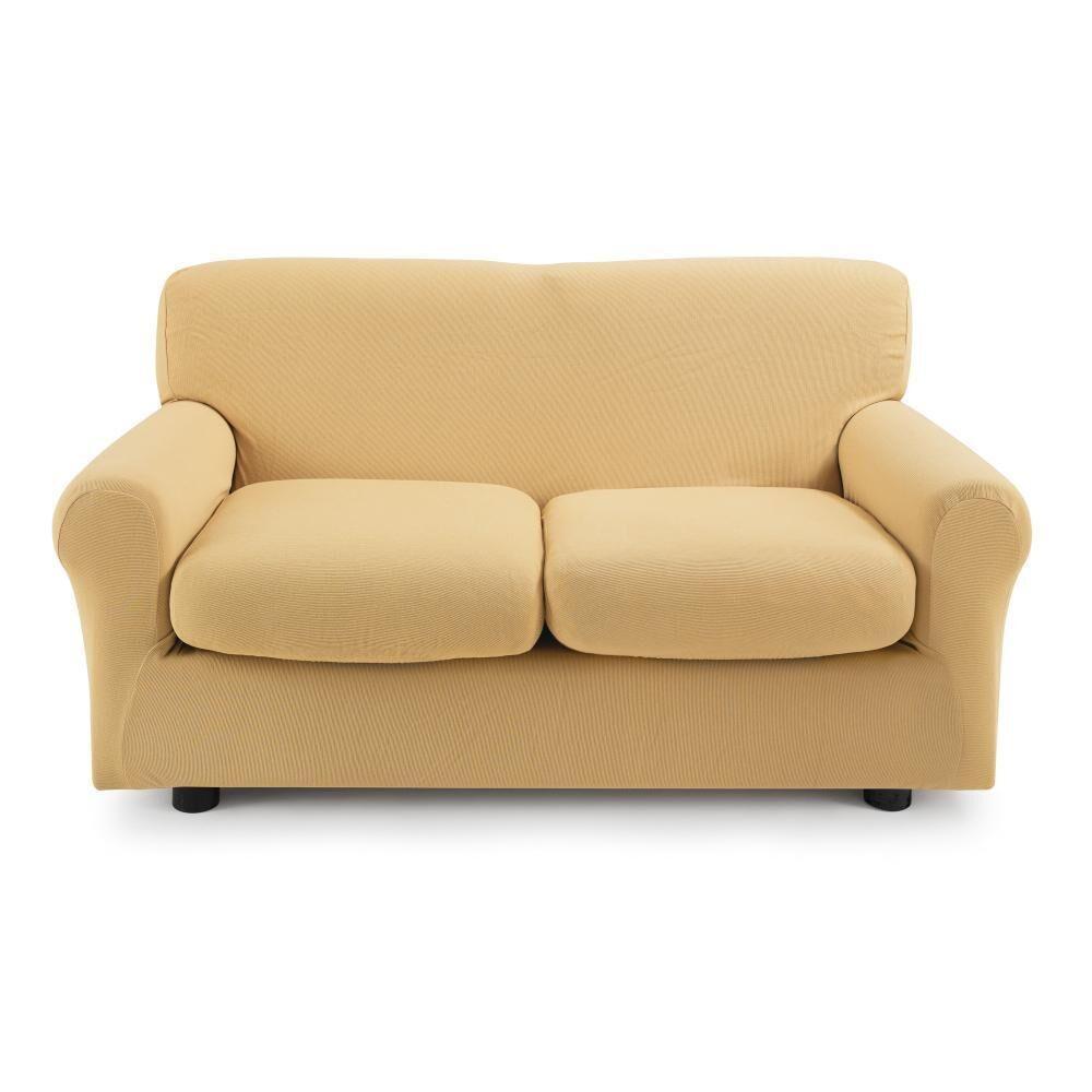 Zucchi Copridivano 2 posti con 2 cuscini Zucchi Copri divano ZAPPING ocra