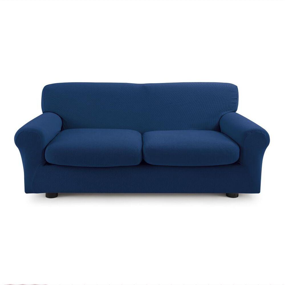 Zucchi Copridivano 3 posti con 2 cuscini Copri Divano ZAPPING Zucchi Blu
