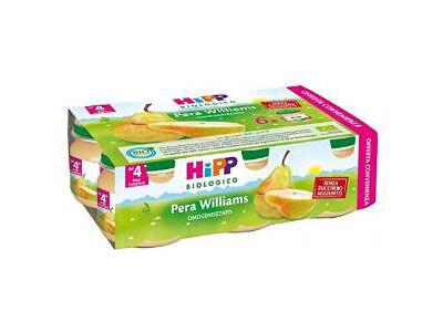 Hipp Italia Srl Hipp Omogeneizzato Pera Williams Multipack 6x80g
