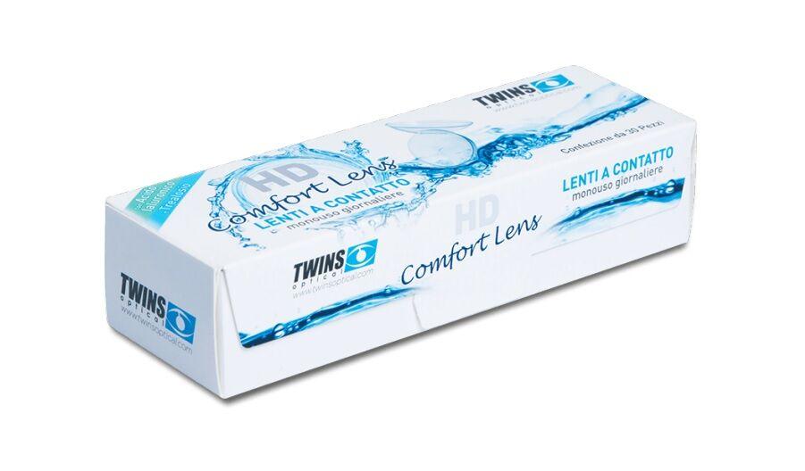 Mast Industria Italiana Srl Twins Optical HD Comfort Lens Lenti a Contatto Giornaliere Diottrie 7,50 30 Lenti