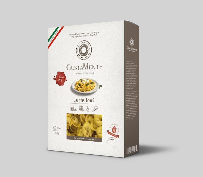 taste italy srl gustamente tortelloni pasta fresca senza glutine 250g