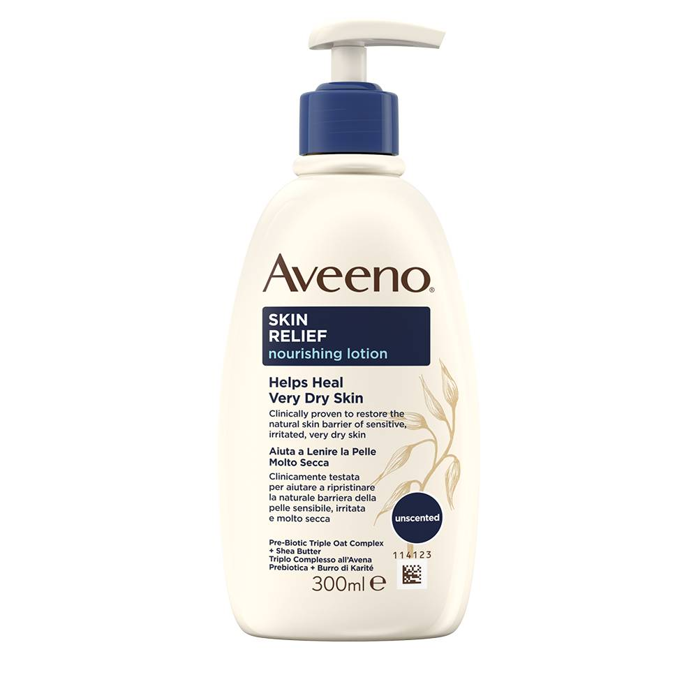 Johnson & Johnson Skin Relief Crema Nutriente Lenitiva Aveeno® 300ml