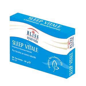 Bliss Ayurveda Italy Srl Ayurera Sleep Vitale Integratore Alimentare 60 Compresse