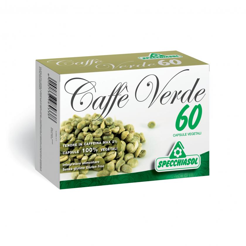 Specchiasol Srl Specchiasol Caffe' Verde Integratore Alimentare 60 Capsule