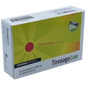 Officine Naturali Srl Tireoage Low 30cpr 850mg