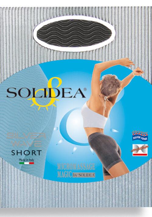 Solidea By Calzificio Pinelli Solidea Silver Wave Short Collant Colore Nero Taglia Xl