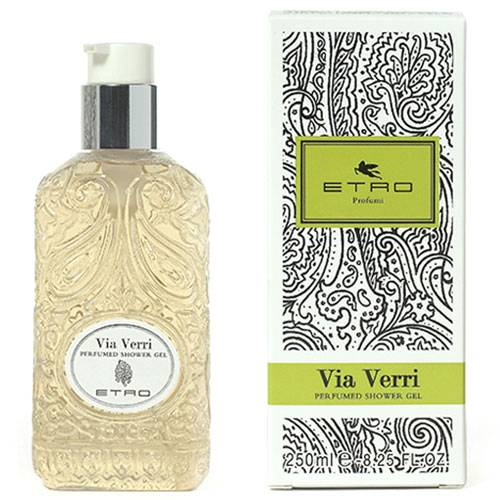 Etro Via Verri Shower Gel 250 Ml