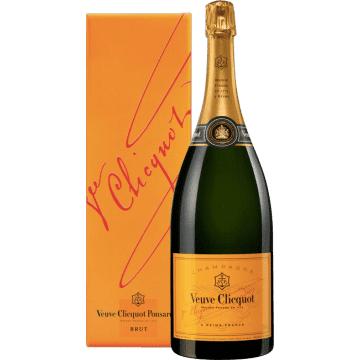 Champagne Veuve Clicquot - Brut Carte Jaune In Confezione - Magnum