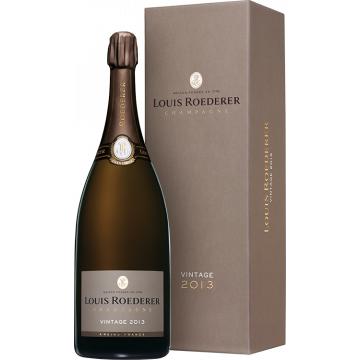 Champagne Louis Roederer Magnum Champagne Louis Roederer - Brut Annata 2014 - En Cofanetto Deluxe