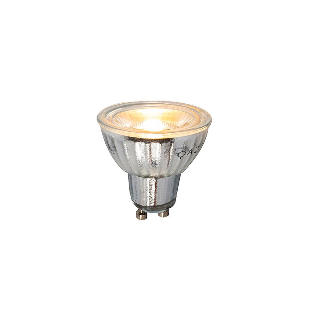 LUEDD Lampadina LED GU10 7W 500LM 2700K dimmerabile