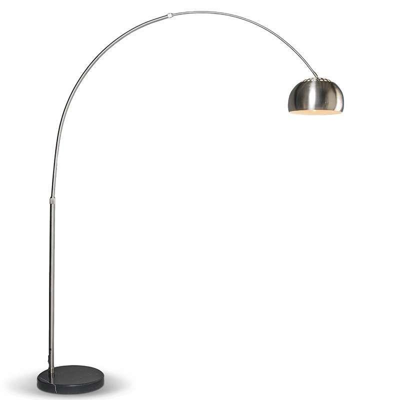 QAZQA Lampada ad arco moderna orientabile in acciaio - GRANDE