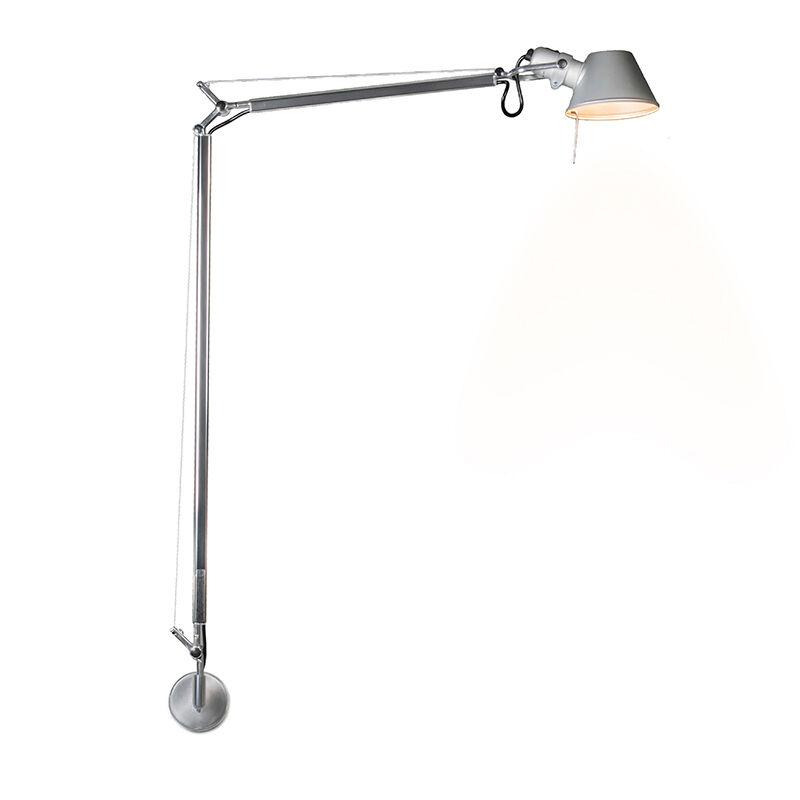 Artemide Applique 'Tolomeo Lettura Parete' moderno grigio/alluminio - adatto per LED / interno