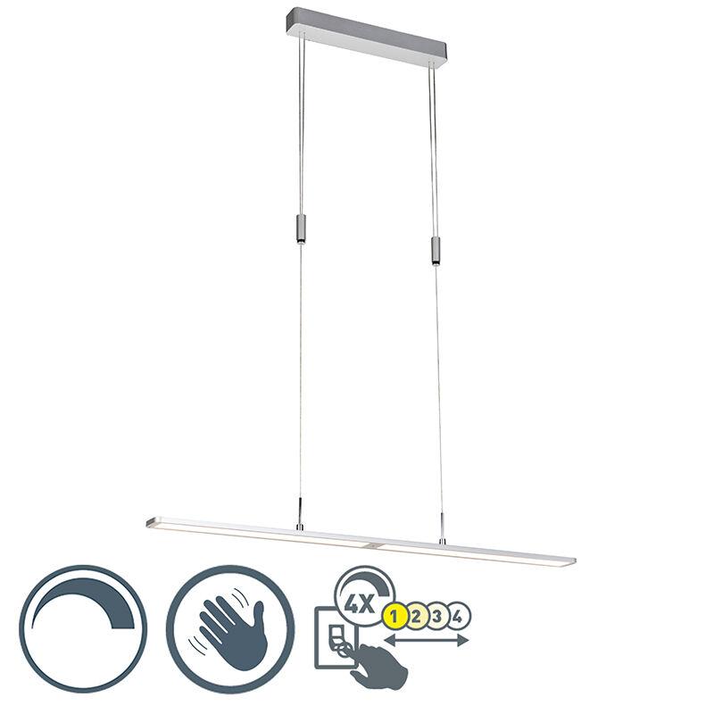 paul neuhaus lampada a sospensione alluminio touch dimm 4 livelli - alta