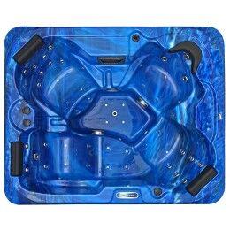 SPAtec Idromassaggio da esterno - SPAtec 500B blu
