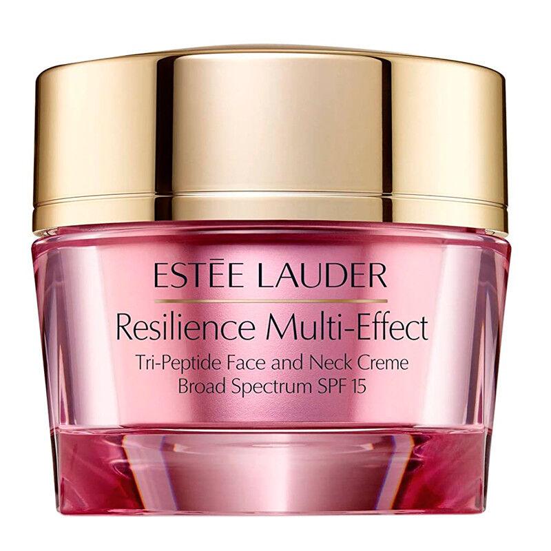 Estee Lauder Creme per il trattamento Resilience Multi-Effect Trip-Peptide Face and Neck Creme SPF15