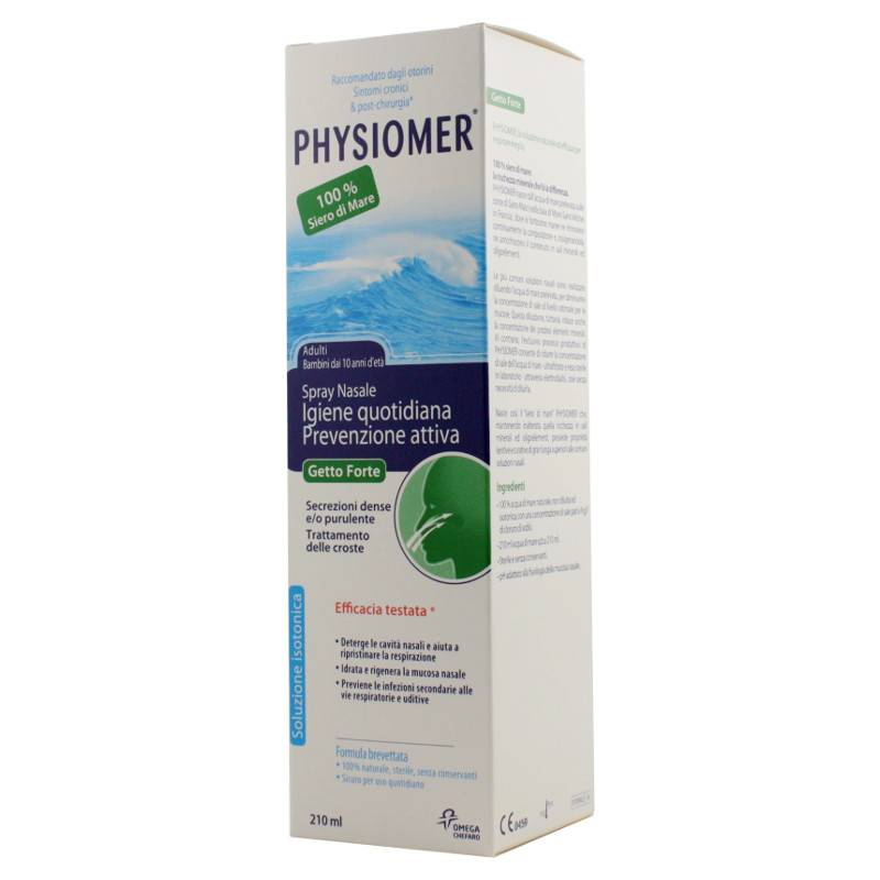 Physiomer Spray Nasale Getto Forte 210 Ml
