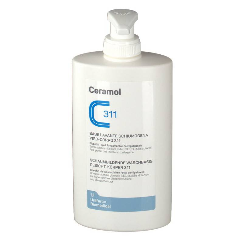 Ceramol Base Lavante Schiumogena 400 Ml
