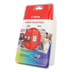Canon VALUE PACK NERO / DIFFERENTI COLORI PG-540XL CL-541XL PHOTO VALUE PACK 5222B013 2 CA ORIGINALE