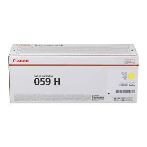 Canon TONER GIALLO 059 HY 3624C001 13500 COPIE ORIGINALE