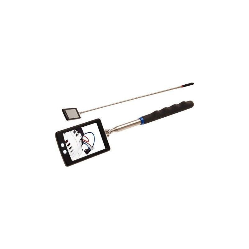 bgs specchio allungabile di ispezione led specchietto snodabile 285-870 mm bgs9302