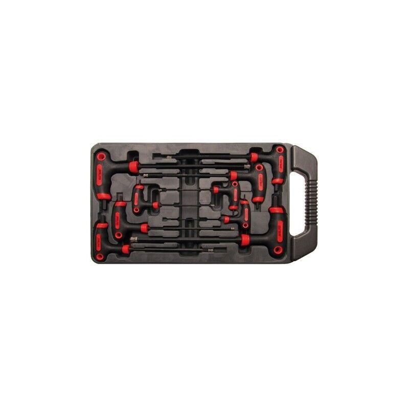 bgs set 9 pezzi chiavi con impugnatura bgs7882