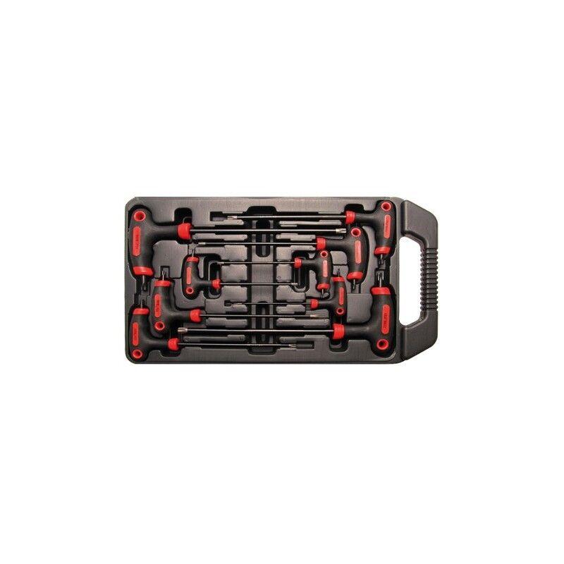 bgs set 9 pezzi chiavi torx con impugnatura bgs7880
