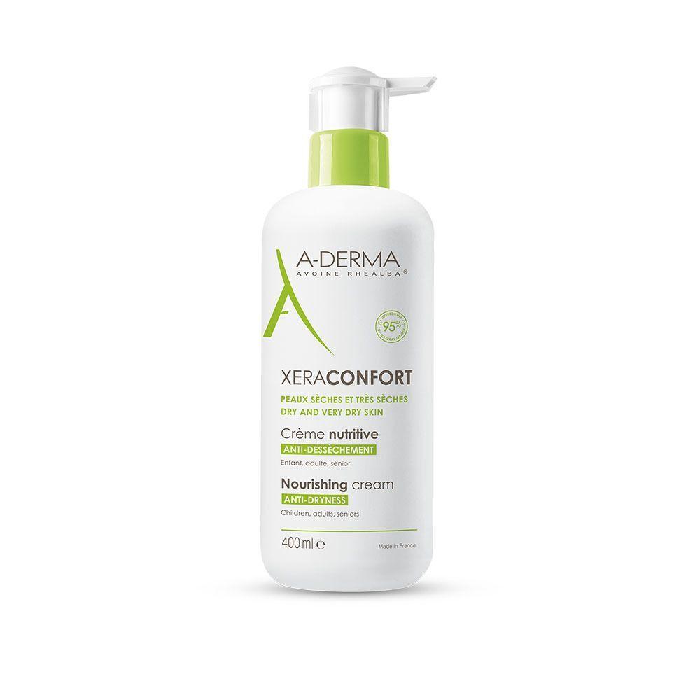 A-Derma Xera-Mega Confort Crema Nutritiva Anti-Secchezza 400 ml Crema
