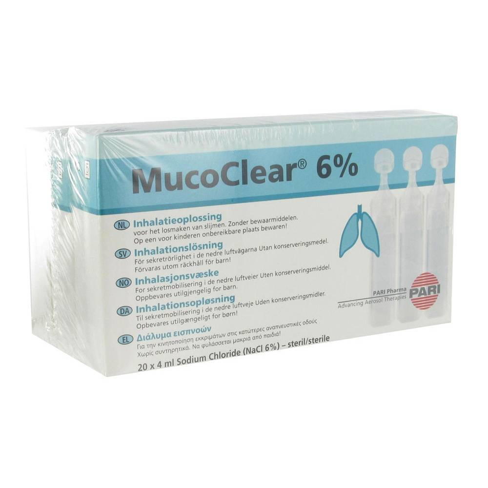 Henrotech Mucoclear 6% NaCl 240 4260020435336