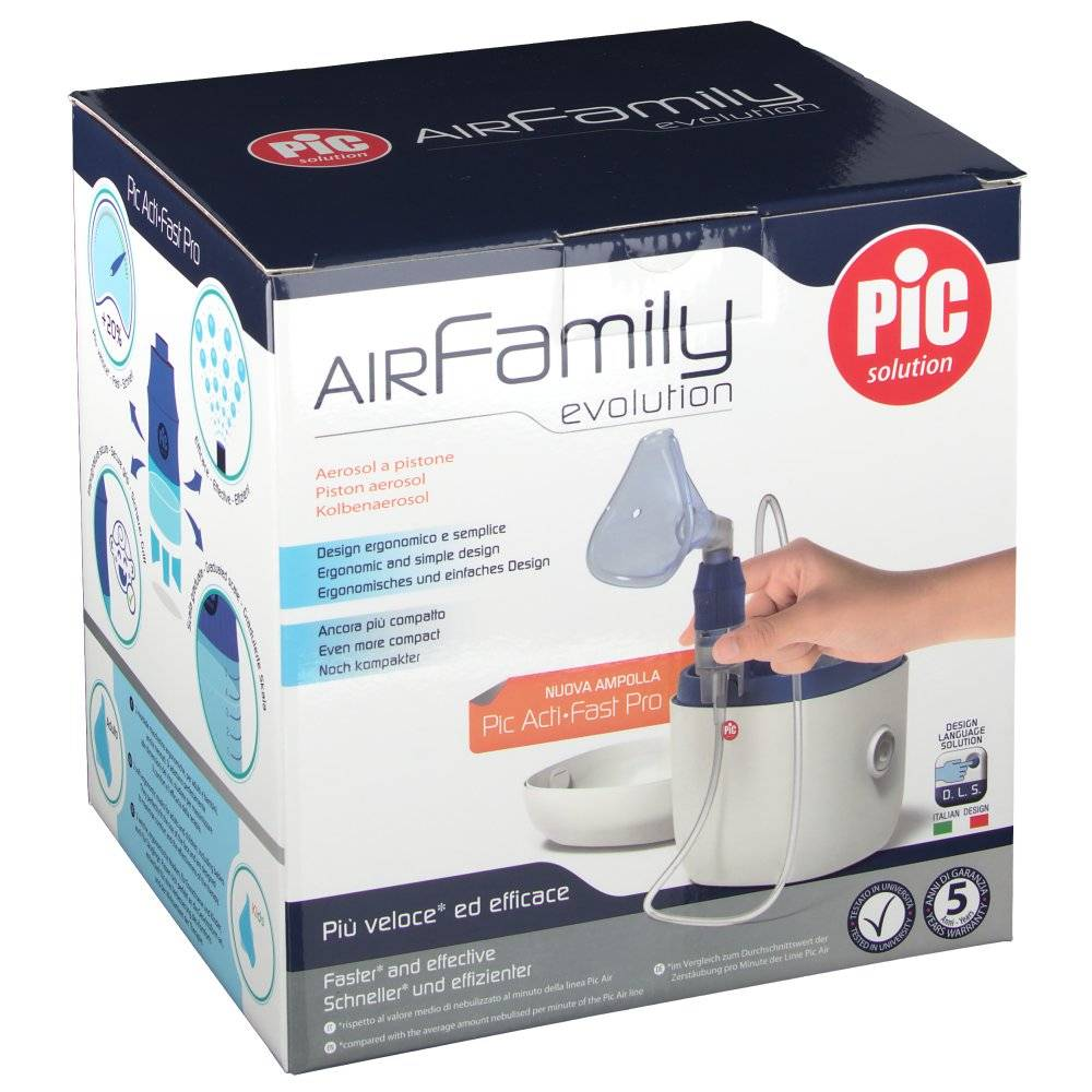Pikdare Srl Pic Solution Air Family Evolution Kit per aerosol a pistone 1 8058090009542
