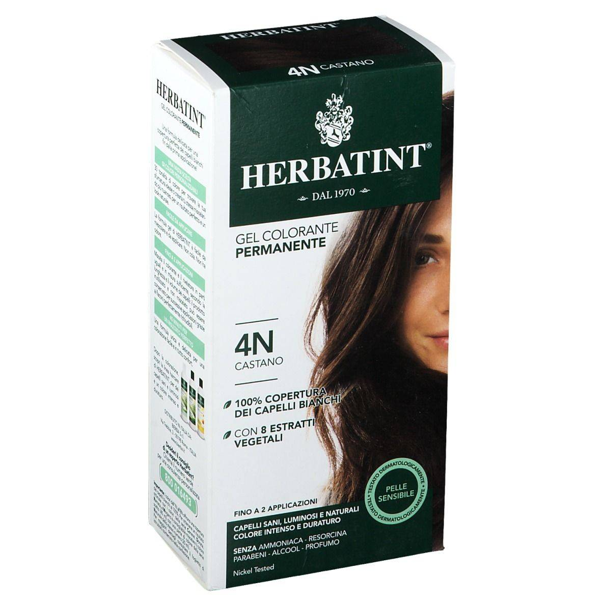 Herbatint ® Gel Colorante Permanente 150 ml Lozione