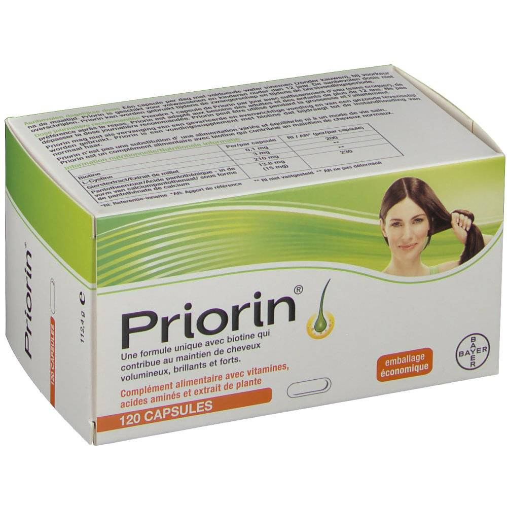 Bayer Healthcare Consumer Bayer Priorin® Anticaduta Capelli Capsule 120 4057599000511