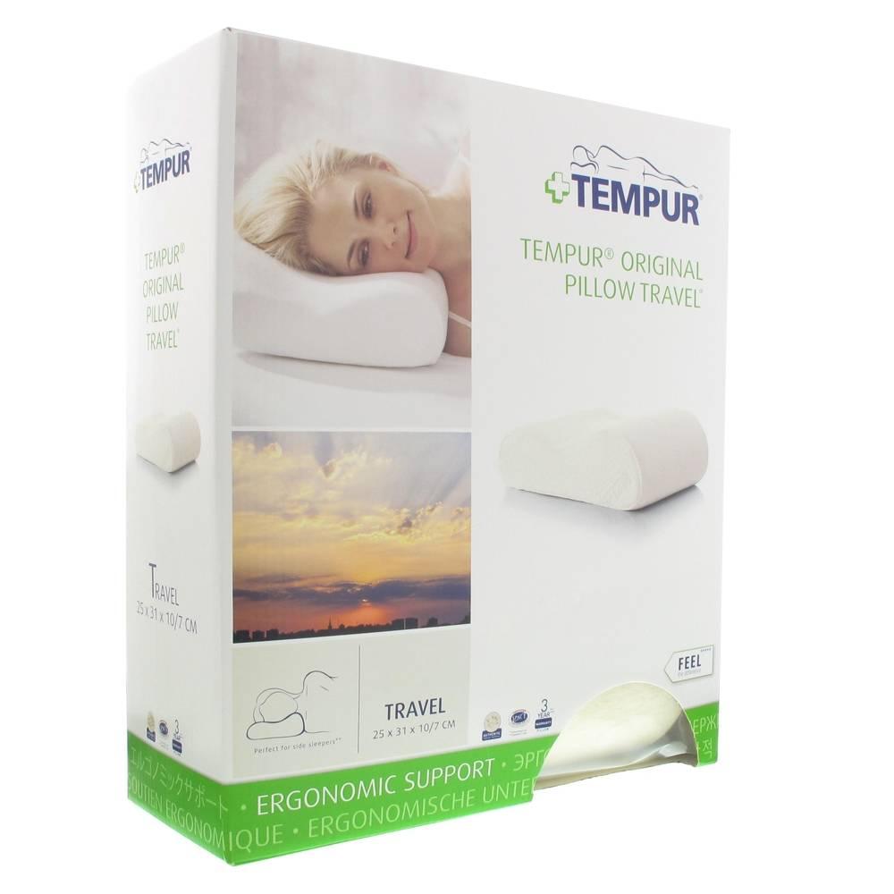 Distrac Tempur Travel Pillow 25x31x10cm 1 5705940139708